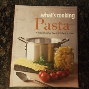 What's cooking - pasta cookbook